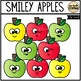 Smiley Apples (Clip Art for Personal & Commercial Use)