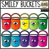 Smiley Buckets (Clip Art for Personal & Commercial Use)