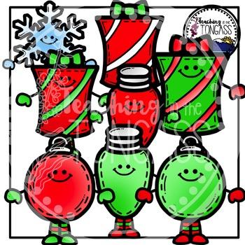 Smiley Christmas Clipart