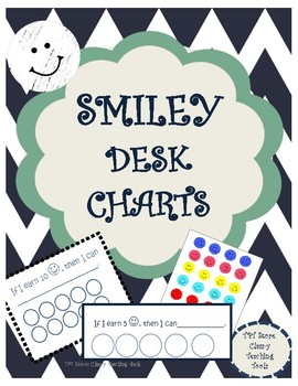 Smiley Desk Behavior Chart