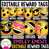 Smiley Emoticon Brag Tags - EDITABLE VERSION