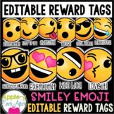 Smiley Emoticon Brag Tags - EDITABLE VERSION