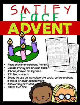 Smiley Face: ADVENT