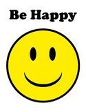 Smiley Face - Be Happy
