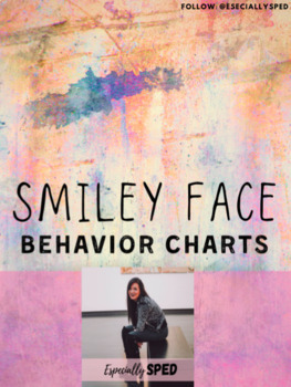 Smiley Face Behavior Chart - 1 Goal