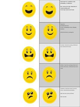 Smiley Face Behavior Tracker