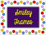 Smiley Face Borders Frame Background