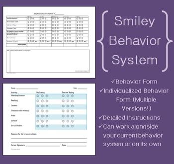 Smiley Face Behavior System