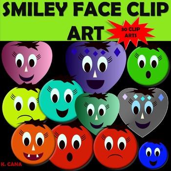 Smiley Faces Clip Art