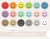 Smiley Face Clipart; Happy, Symbol, Icon