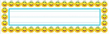 Smiley Face Desk Name Plates