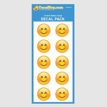 Smiley Face Emoji Decal Mini Pack