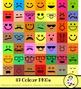 Smiley Face Emoji Emoticon Clip Art Set