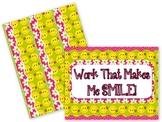 Smiley-Face Flowers Bulletin Board Set