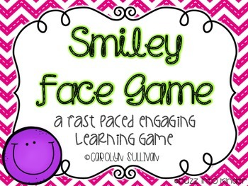 Smiley Face Game: Learning Letters and Numbers