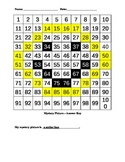 Smiley Face Hundreds Chart Picture