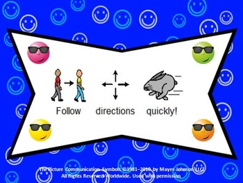 Smiley Face Whole Brain Teaching Rules With Visuals