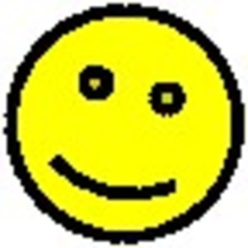 Smiley-Face Winking Bobble-Head—PowerPoint file to design the Animated GIF