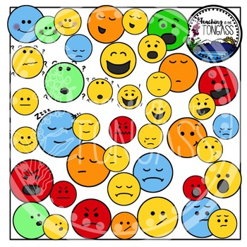Smiley Face Clipart (Emotion Clipart)