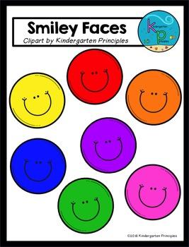 Smiley Faces Clip Art - FREEBIE!