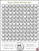 Music Colouring Sheets: 12 Smiley Face Music Colouring Pages: Music Mystery Art