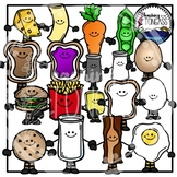 Partner Cards Happy Food Pairs Clipart