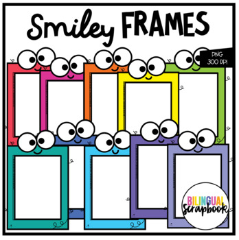 Smiley Frames (Clip Art for Personal & Commercial Use)