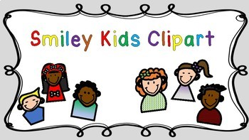 Smiley Kids Clipart