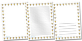 Smiley Pencil Page Borders