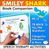 Smiley Shark Speech Therapy Book Companion