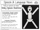 Smiley Speech Skeletons!