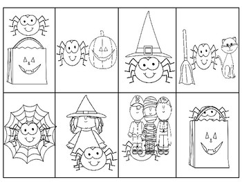 Smiley Spider Preposition Book and Flashcards *Updated*
