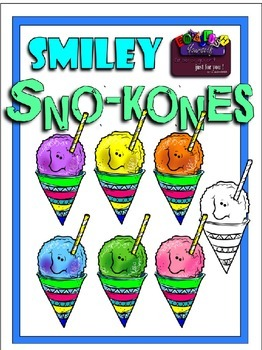 Smiley Sno Kones (Embellish Yourself Artworks)