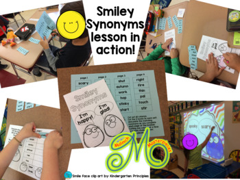Smiley Synonyms – Interactive PowerPoint and Synonym Matching Booklet