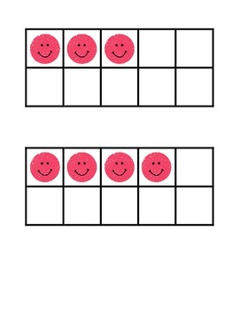 Freebie Smiley Ten Frames