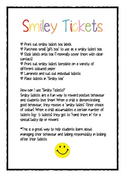 Smiley Tickets