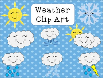 Smiley Weather Clip Art