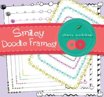 Frames - Smiley Doodle Set
