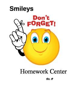 Smileys Classroom Centers