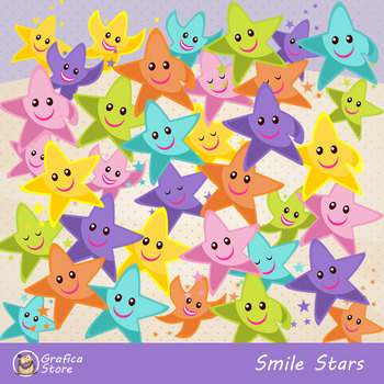 Smilies Stars clipart
