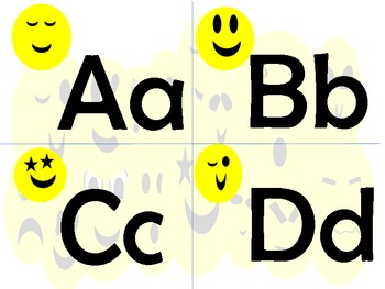 Smilin' Face Alphabet