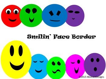 Smilin' Face Border