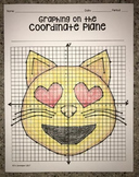 Smiling Cat Face with Heart- Shaped Eyes Emoji (Graph)