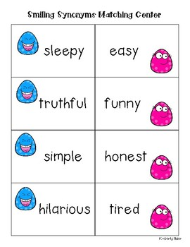 Smiling Synonyms Matching Center