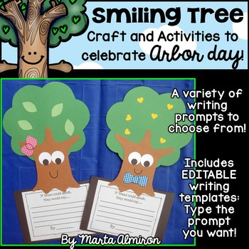 Smiling Tree - Craft and Activities for Arbor Day