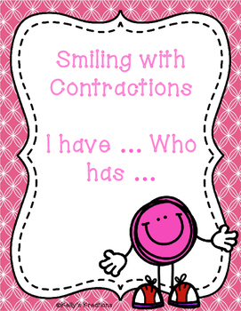 Smiling with Contractions