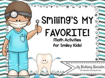 Smiling's My Favorite!  Math Stations for Primary Grades