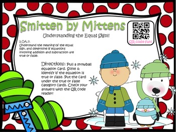 Smitten by Mittens! (Understand the Equal Sign)