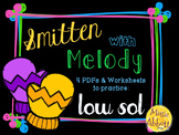 Smitten with Melody, PDFs and Worksheets to practice low sol