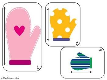 Smitten with Mittens Math and Literacy Pack